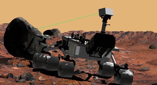 Artist concept of Mars Science Laboratory Credit: NASA/JPL-Caltech