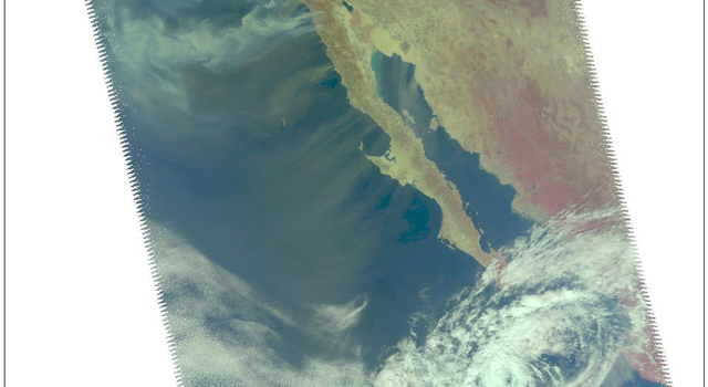 smoke from multiple wildfires burning in Southern California
