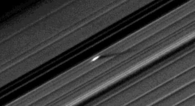 An unusually large propeller feature in Saturn's A ring