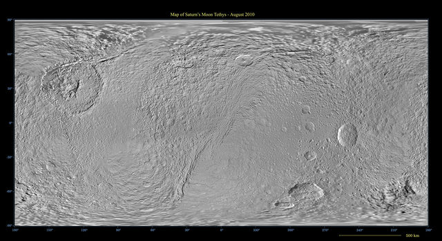 Map of Tethys - August 2010