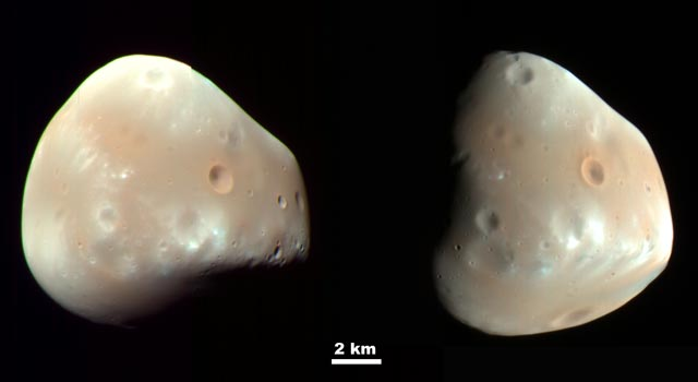 Martian Moon Deimos