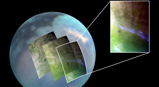 Titan's Lingering Clouds