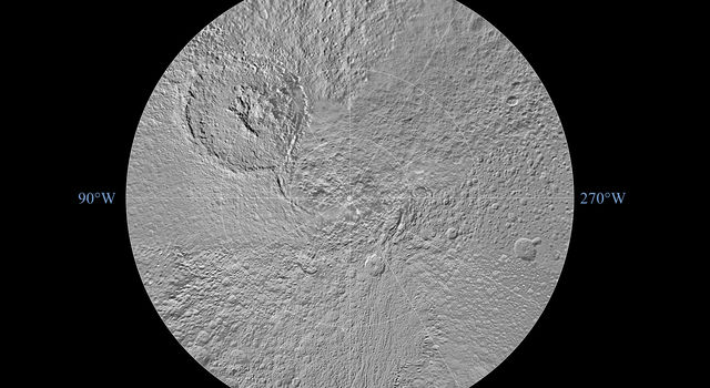 Tethys Polar Maps - August 2010