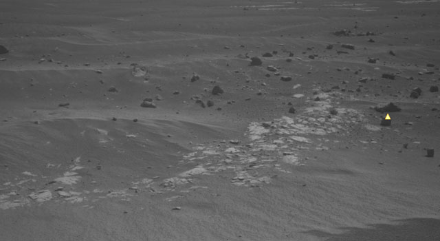 Mars imaged by Opportunity