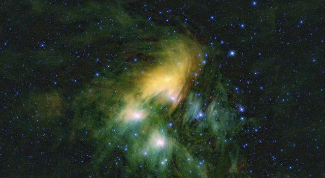 Pleiades cluster of stars