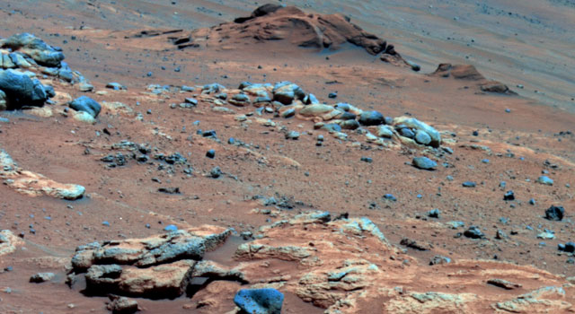 Lengthy detective work with data NASA's Mars Exploration Rover Spirit collected in late 2005 has confirmed that an outcrop called 'Comanche'