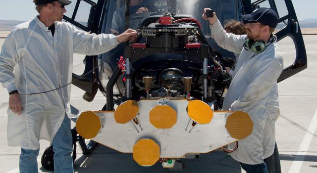 Preparing for a Mars radar test