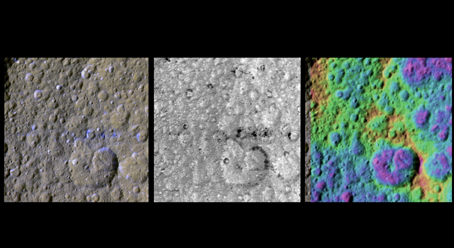 The Colorful Equator of Rhea