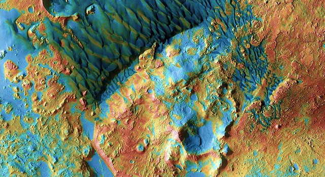 Mars Odyssey All Stars: Arabia Dunes