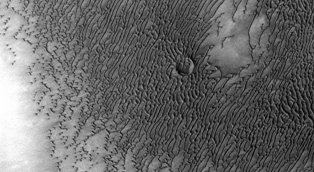 Mars Odyssey All Stars: Dunes Engulf Crater