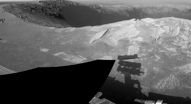 'Santa Maria' Crater in 360-Degree View, Sol 2451