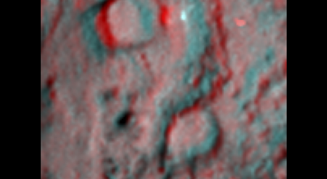 Deep Impact Site in 3-D