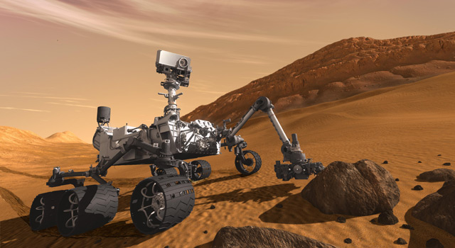 Curiosity - The Next Mars Rover