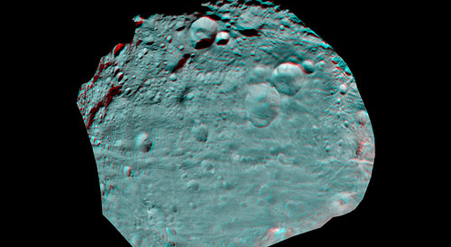 Vesta's Surface in 3D: An Ancient, Cratered Surface