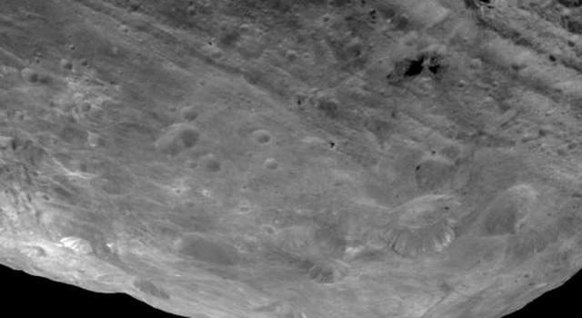 Impressive Mountain Tops on Vesta