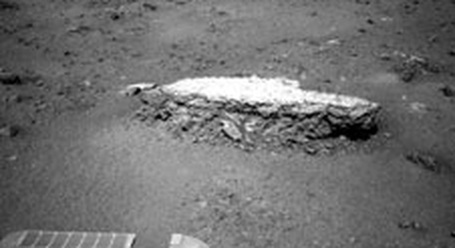 Approaching 'Tisdale 2' Rock on Rim of Endeavour Crater