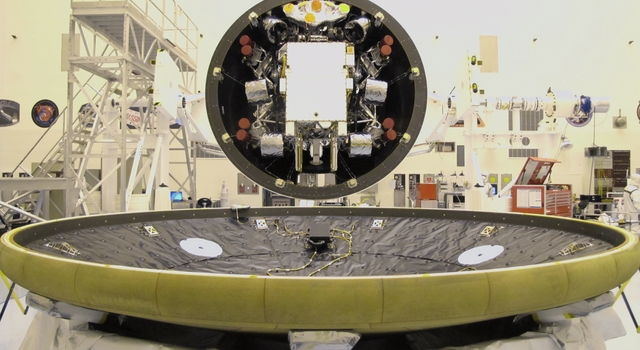 Final Closeout Actions for Curiosity's Heat Shield and Back Shell