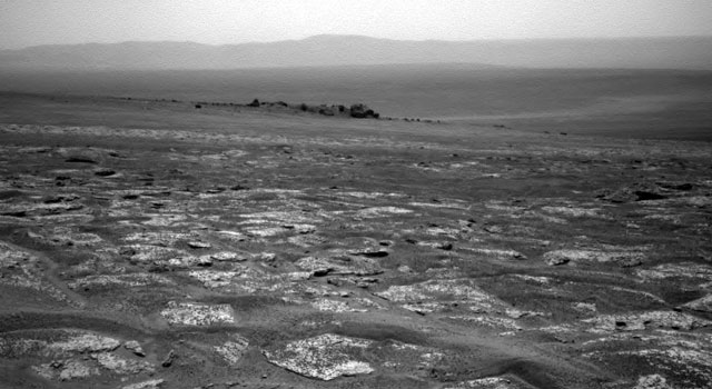 Approaching Endeavour Crater, Sol 2,680