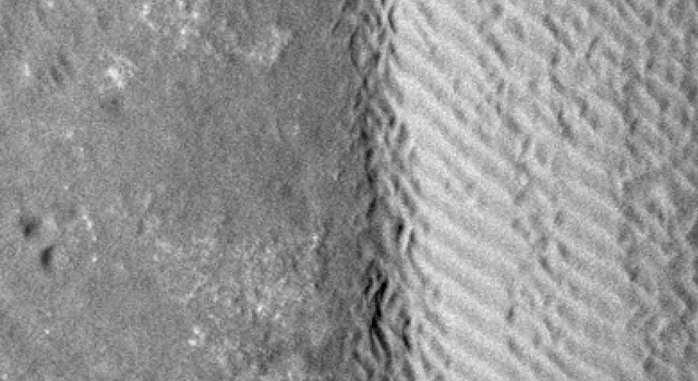 Shifting Sand in Herschel Crater