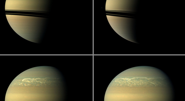 Chronicling Saturn's Northern Storm