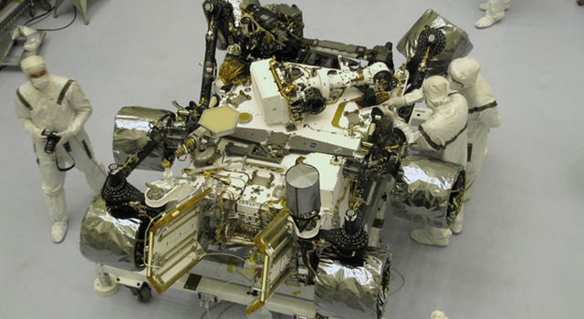 Mars Science Laboratory Rover Closeout