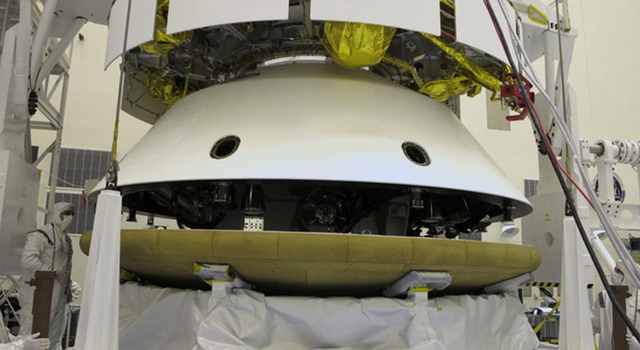 Mars Science Laboratory Heat Shield Integration for Flight