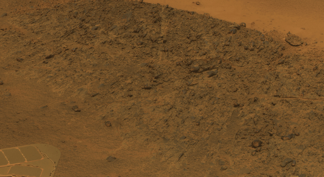 'Greeley Haven' Site for Opportunity's Fifth Martian Winter