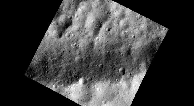 Trough in Dark and Bright on Vesta