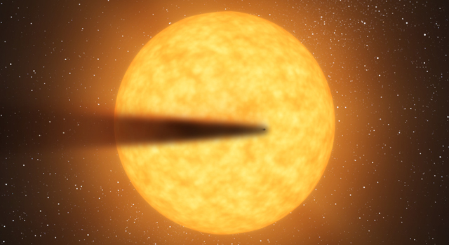 Possible Disintegrating Planet