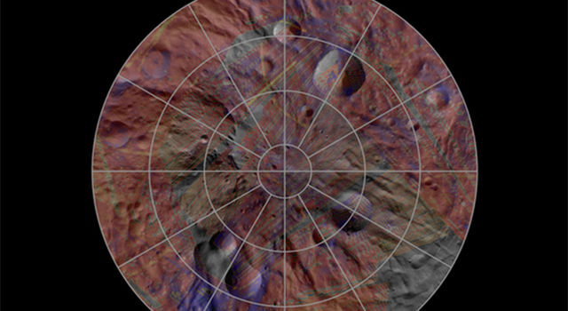 Mineral Diversity at Vesta's South Pole