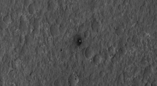 Final Resting Spot for Curiosity's Heat Shield
