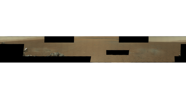 First Hi-Res Color Mosaic of Curiosity's Mastcam Images