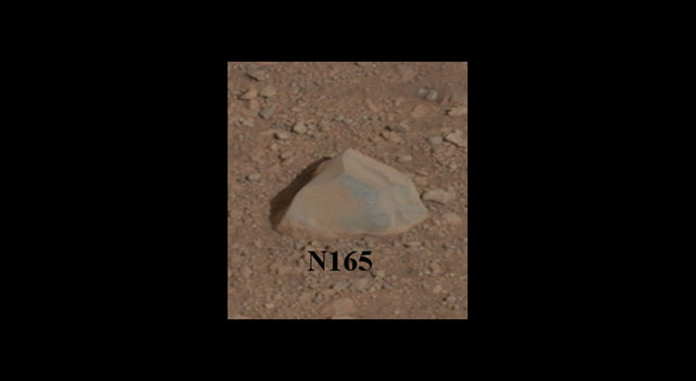 Curiosity's First Rock Star, Up-Close