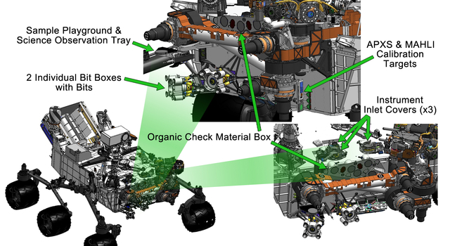 Curiosity's Work Bench