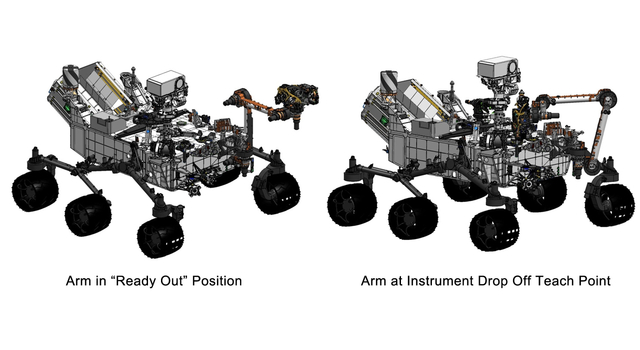 Flexing Curiosity's Arm