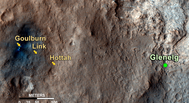 Curiosity's Roadside Discoveries