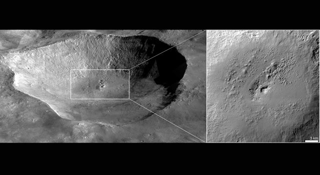 Most Spectacularly Preserved Pitted Terrain on Vesta