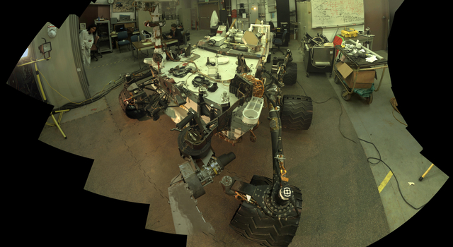 Self-Portrait of Curiosity's 'Stunt Double'