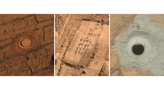 Different Tools for Different Purposes on Mars