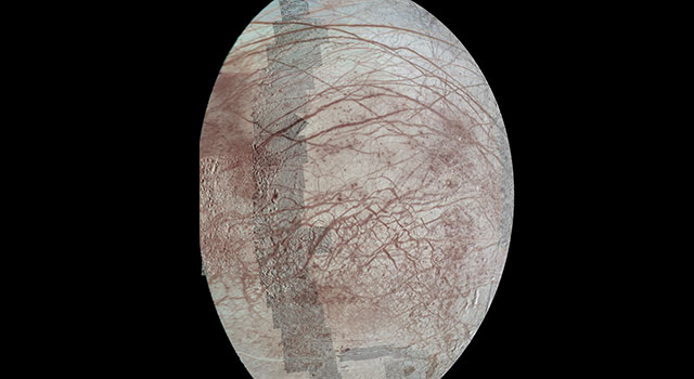Repeated Flybys Yield a Pole-to-Pole View of Europa