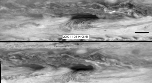 Vortices Bump into a Hot Spot in Jupiter's Atmosphere
