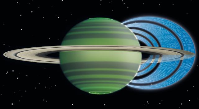Saturn's Ring 'Rain'