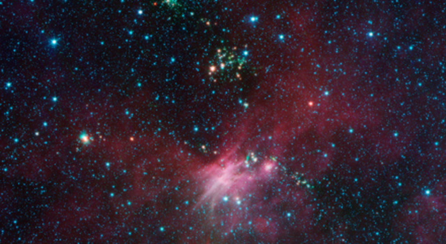 Stars Shoot Jets in Cosmic Playground