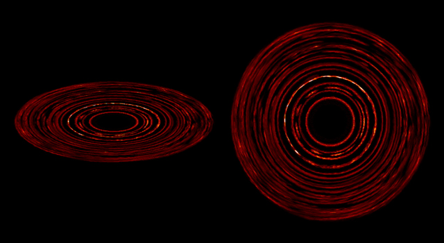Disk Patterns Form Without Planets
