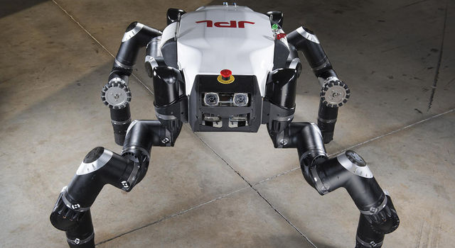 Limbed robot RoboSimian, which was developed at JPL