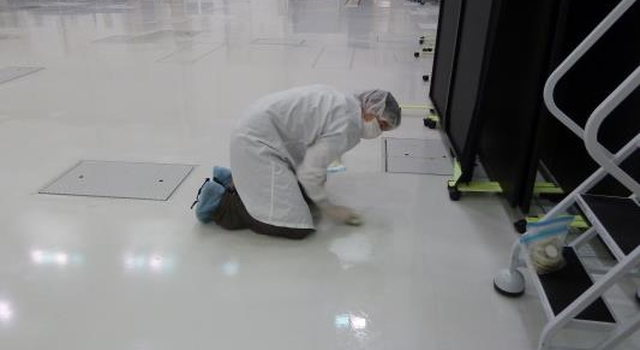 Looking for Microbes in a Spacecraft Assembly Clean Room