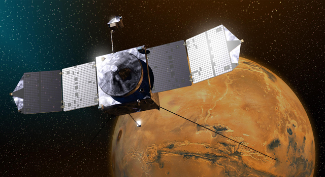NASA's MAVEN spacecraft