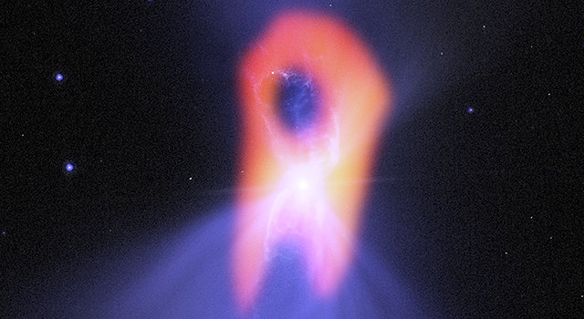 The Boomerang nebula, called the