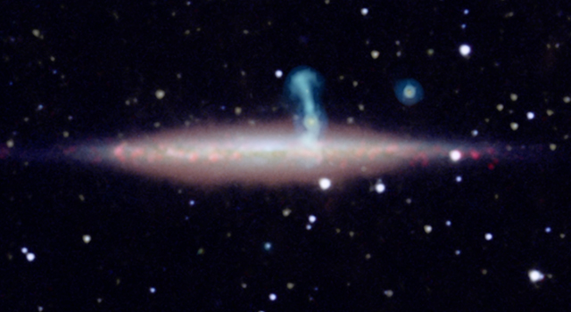 Two Galaxies Masquerading as One