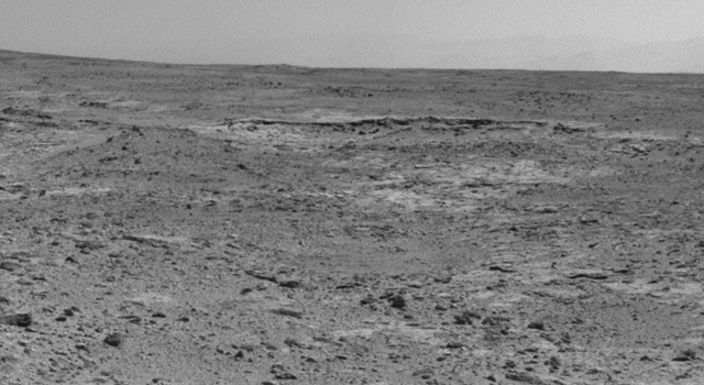 Curiosity's View of